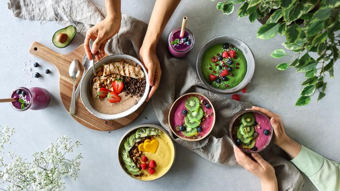 image of 5 Breakfast Smoothie Bowls