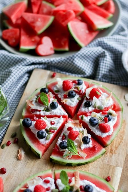 image of Watermelon Pizza