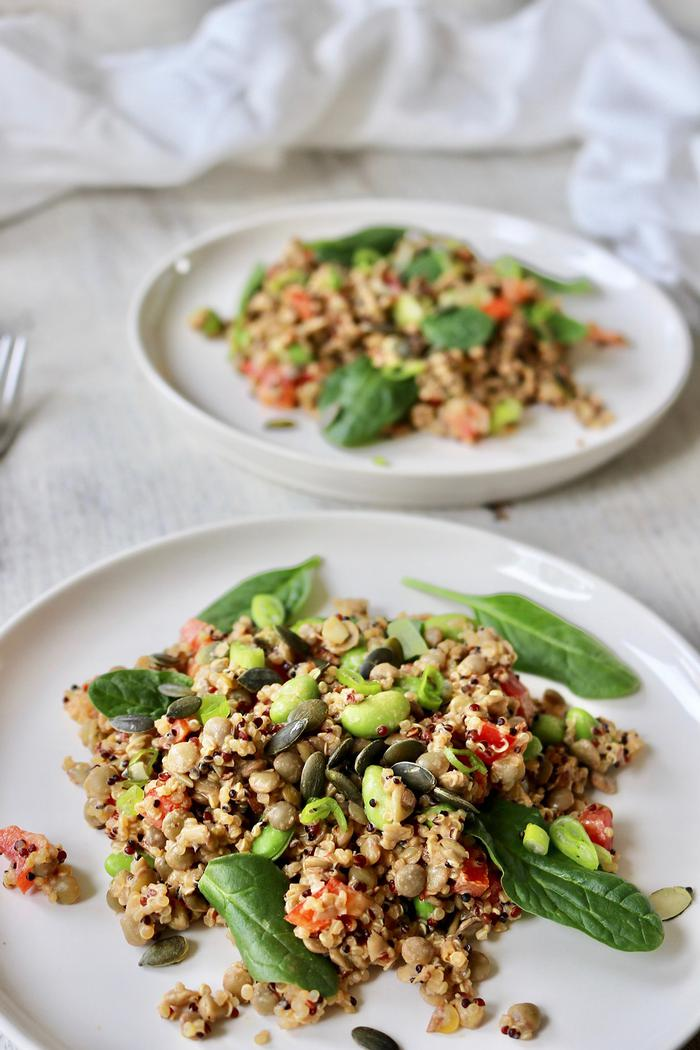 Image of Protein-Packed Lentil & Quinoa Salad