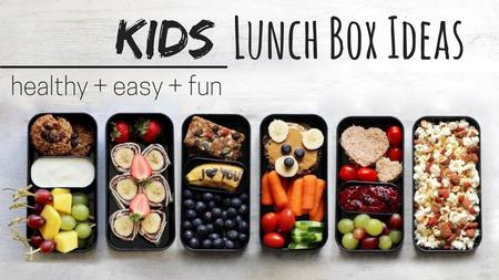 thumbnail image of Lunch Ideas for Kids