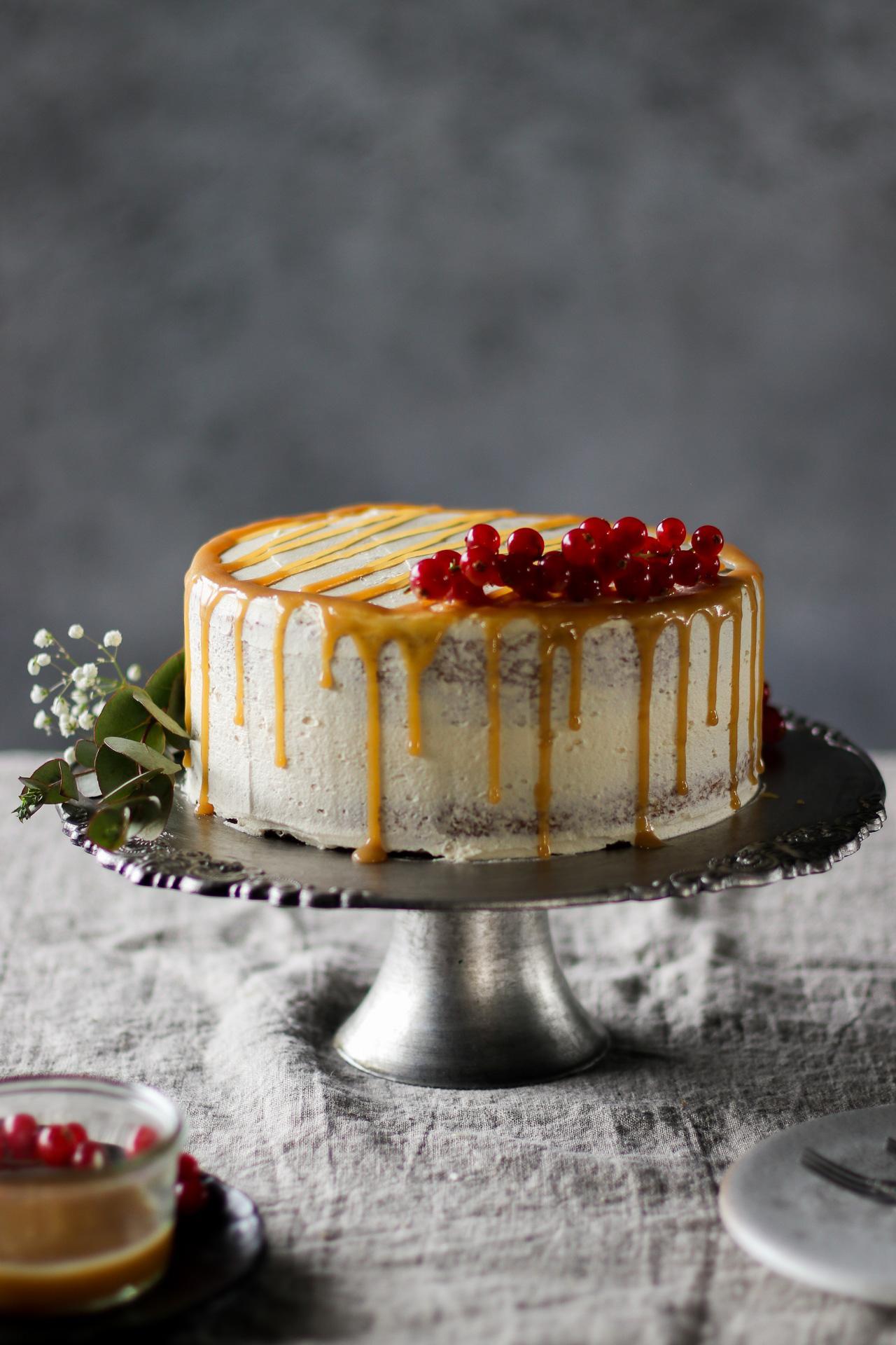 Main image of Vanilla Caramel Cake