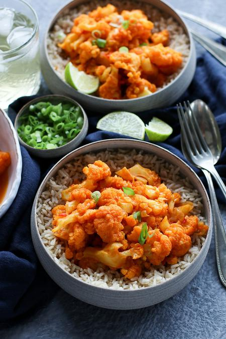 image of Gulpea: Afghan Tomato & Cauliflower Curry