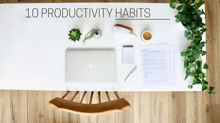 thumbnail image of Healthy Productivity Habits