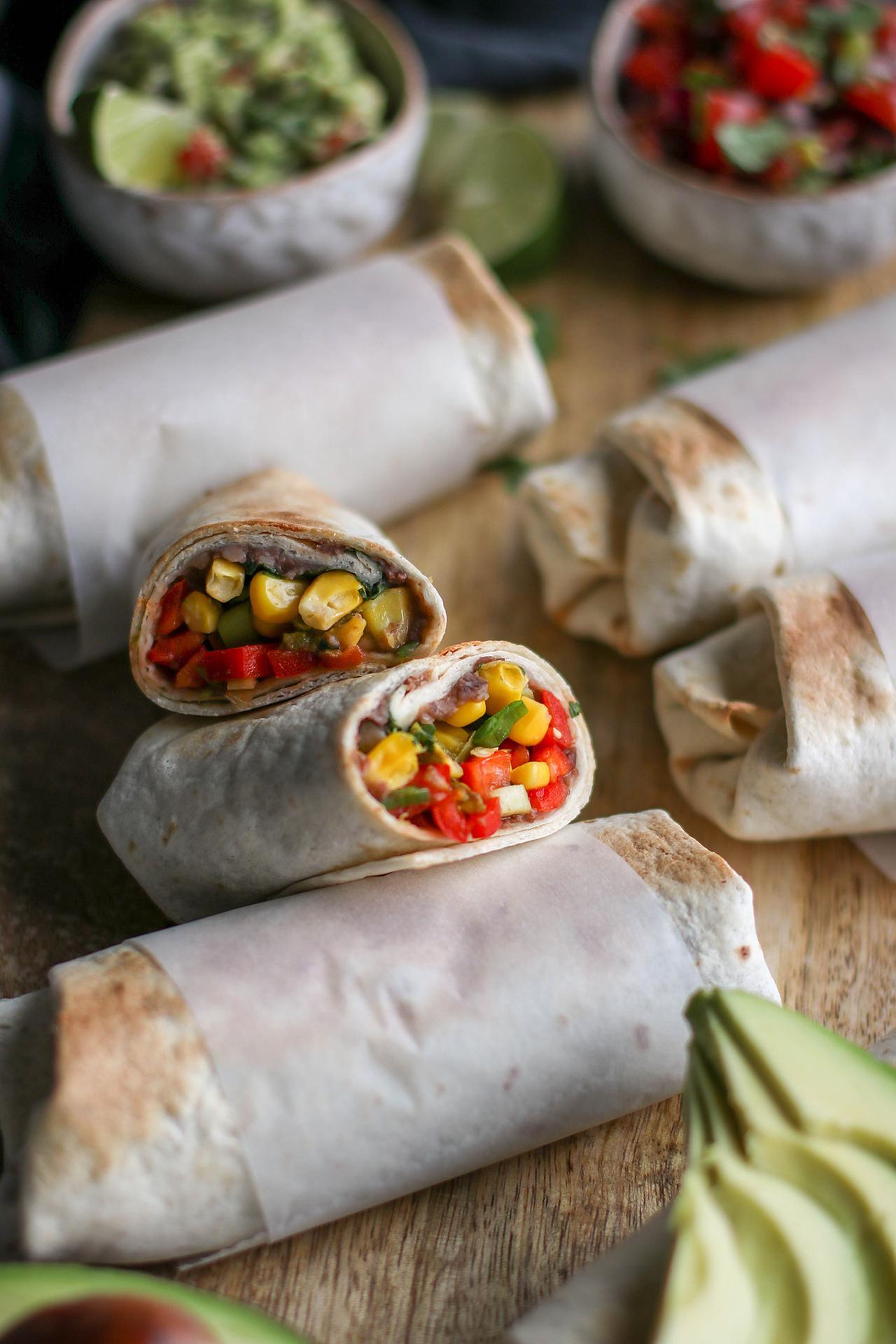 Main image of Make-Ahead Freezer Burritos