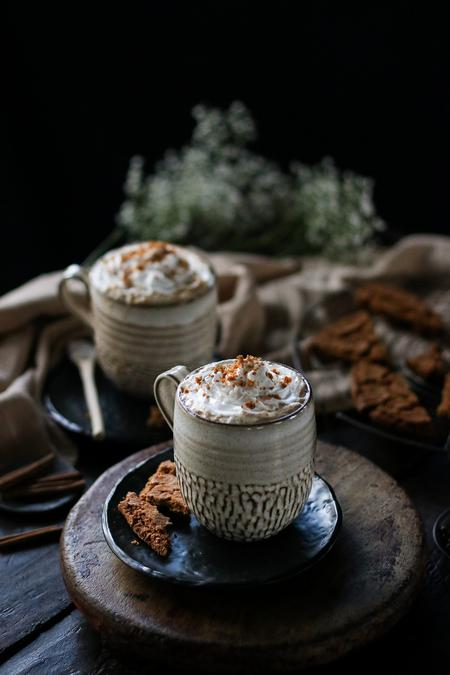 image of Vegan Gingerbread Latte
