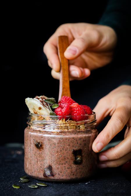 image of Chocolate Chia Breakfast Pudding