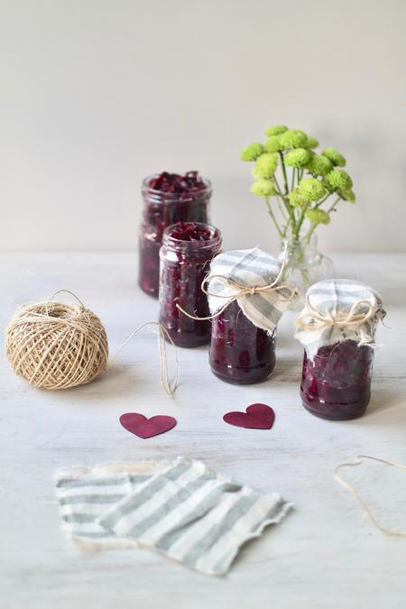 image of Beetroot & Red Cabbage Sauerkraut