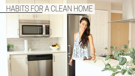 thumbnail image of Habits for a Clean Home