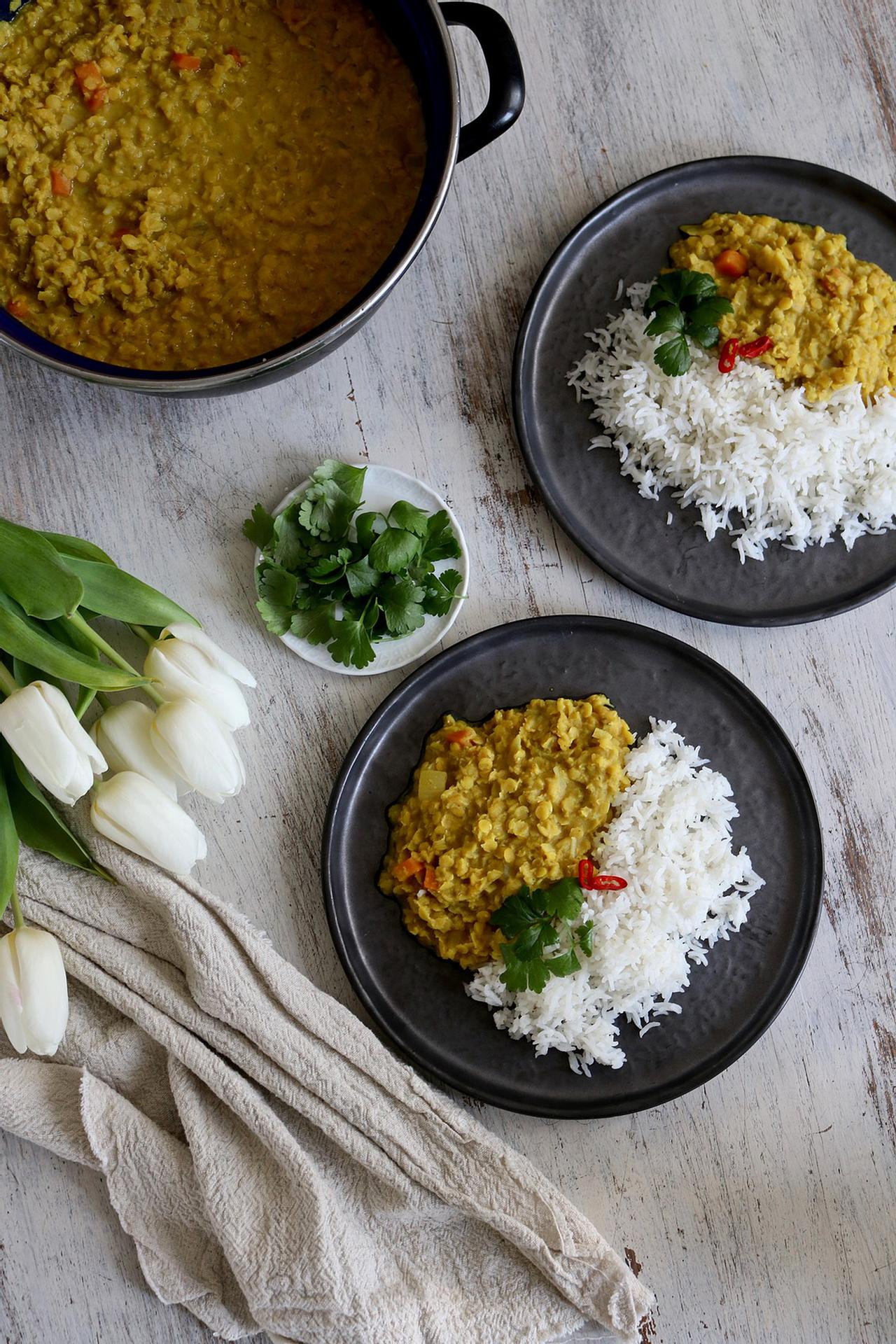 Main image of Comforting Coconut Red Lentil Daal