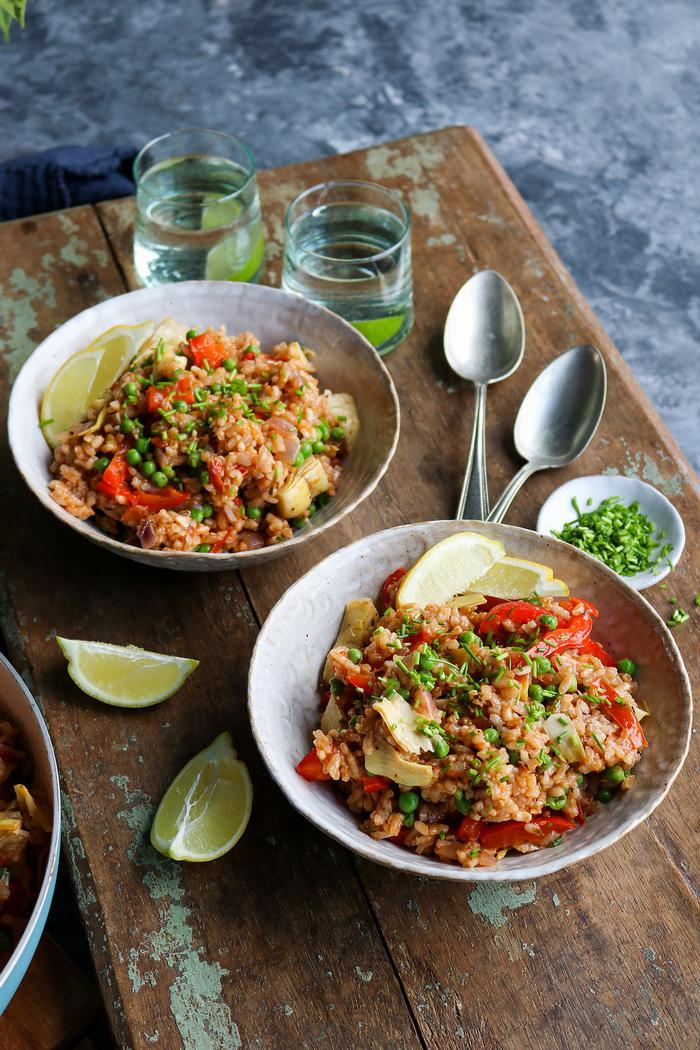 Image of Vegan Paella: Spanish-Inspired Rice