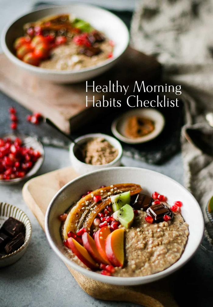 image of Healthy Morning Habits