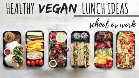 thumbnail image of Vegan School Lunch Ideas