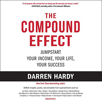image of The compound effect audiobook