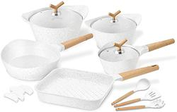 image of White pot & pan set