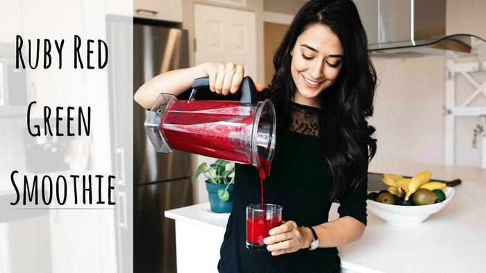 image of Ruby Red Green Smoothie