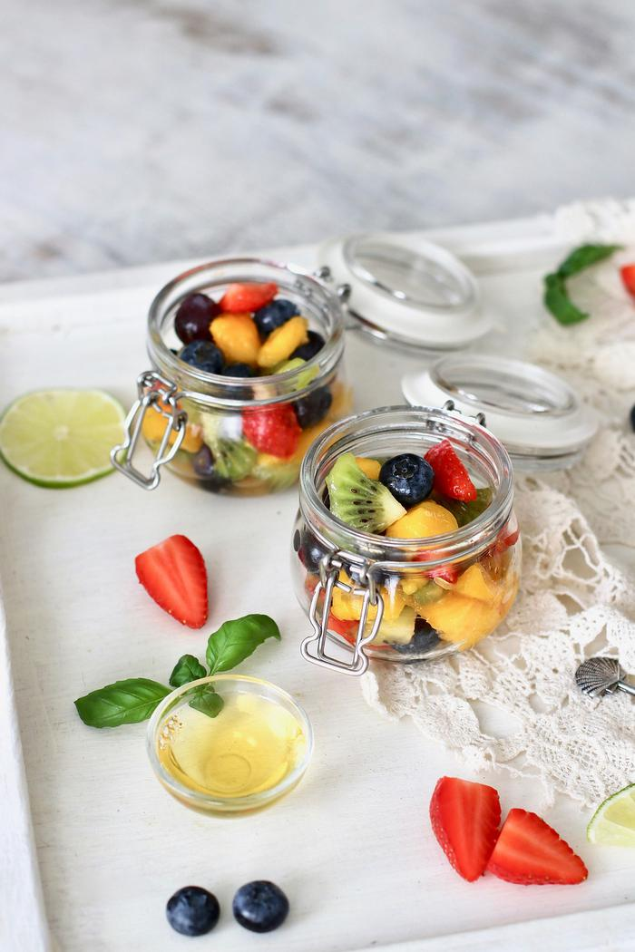 Image of Sweet Lime Summer Fruit Salad