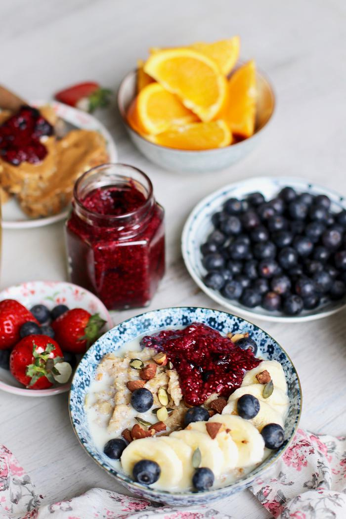 Image of Easy Berry Chia Seed Jam