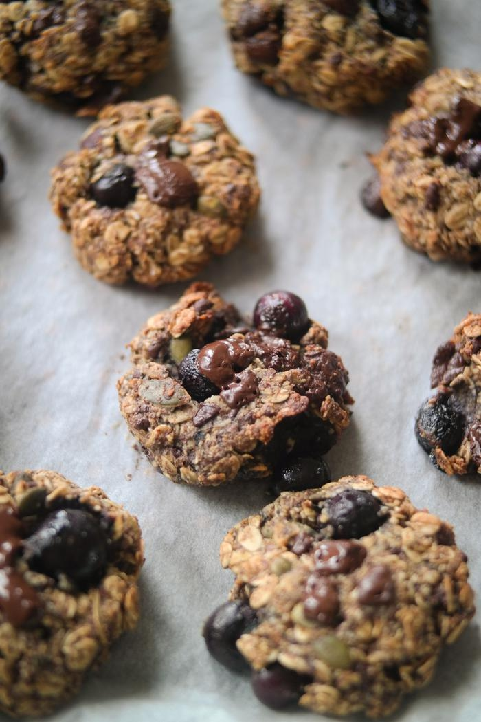 Image of One-Bowl Blueberry Almond Breakfast Cookies