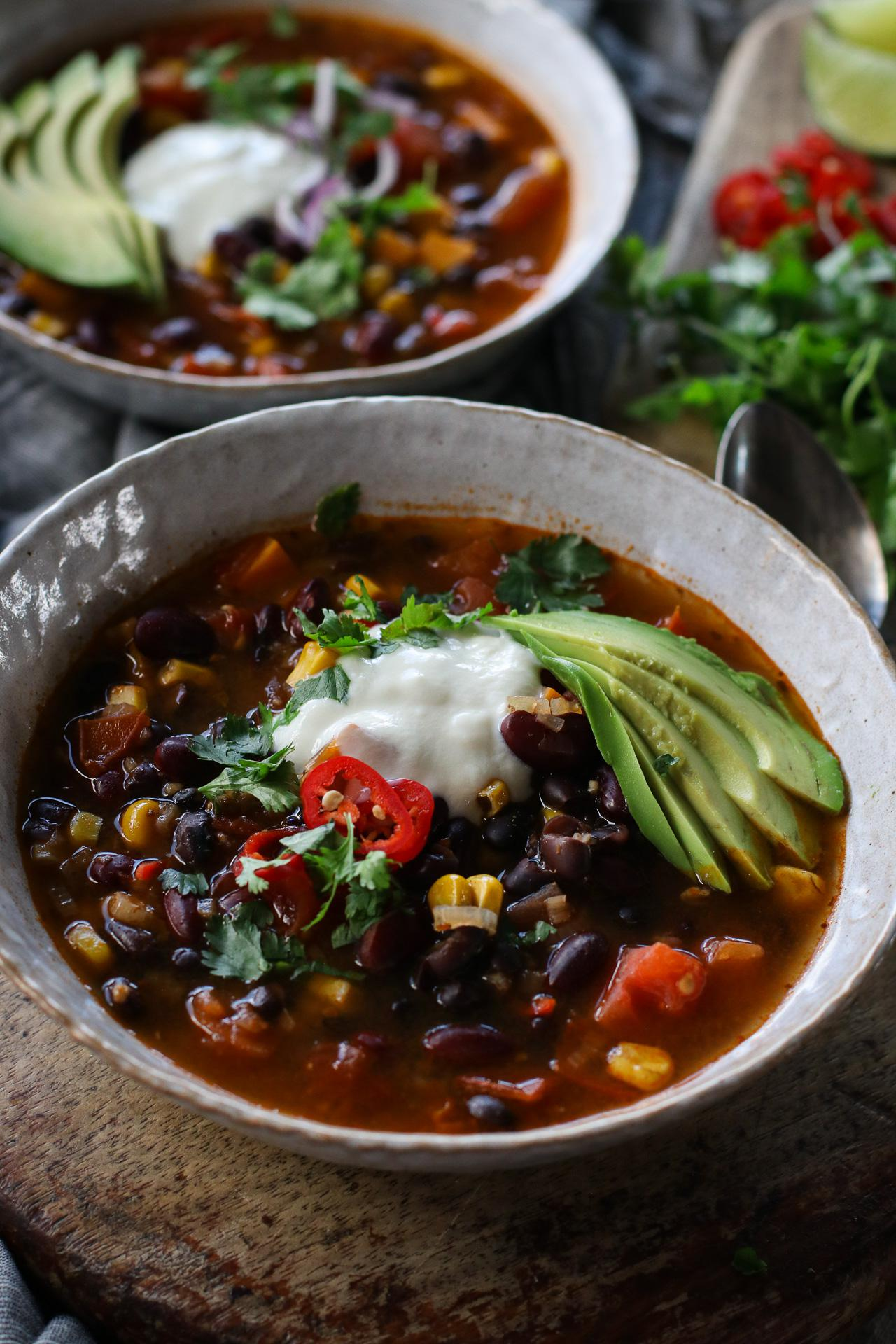 Main image of Sweet Potato Spiced Chilli