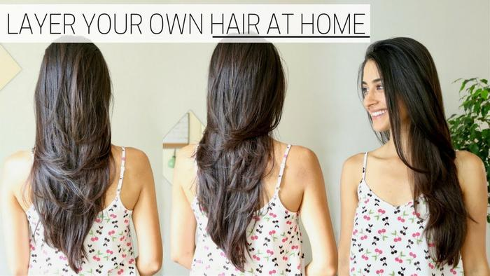 image of How I Cut & Layer My Hair at Home
