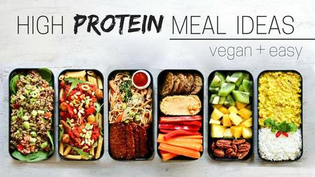 thumbnail image of High Protein Vegan Meal Ideas