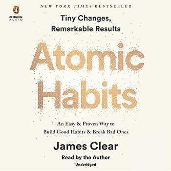 image of Atomic habits audiobook