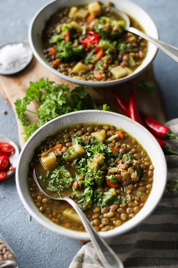 Image of One-Pot Veggie Lentil Soup